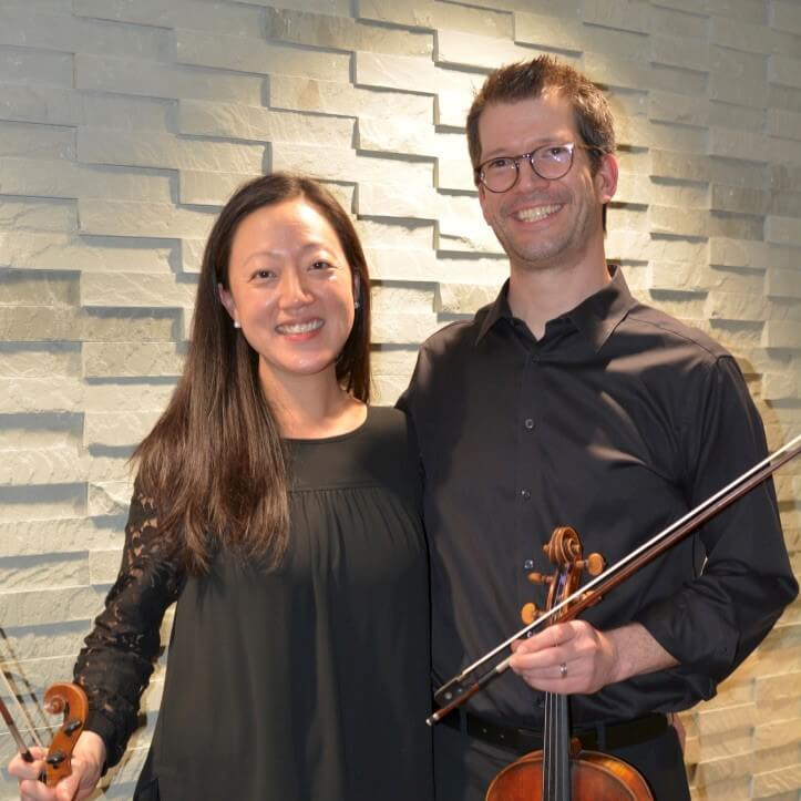 VALENTINES IN STRINGS: CHAERIM & DEREK SMITH